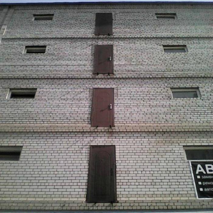 Неординарное здание.