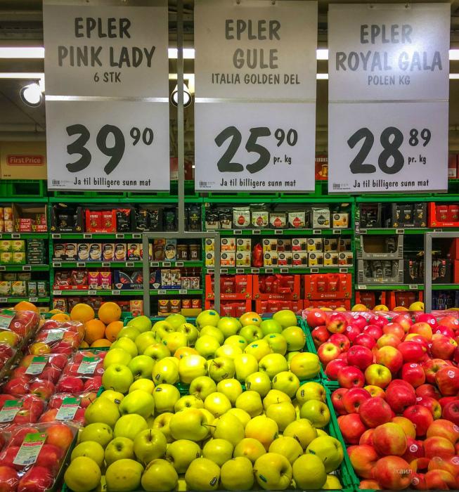 Высокие цены на продукты. | Фото: AfterShock.