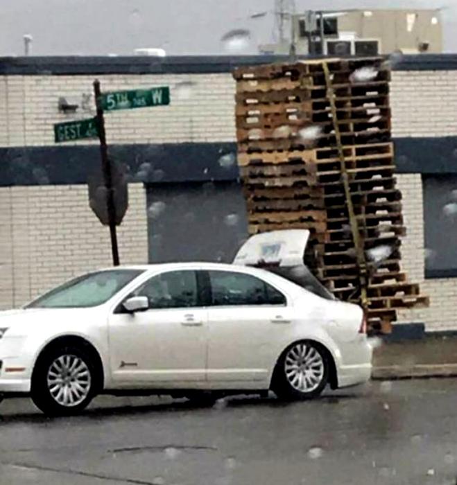 Осторожно, на дороге замечена башня!