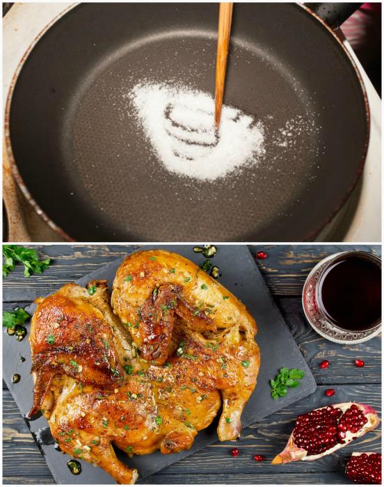 Румяная корочка мяса, рыбы и овощей. | Фото: Wallpaper Flare.