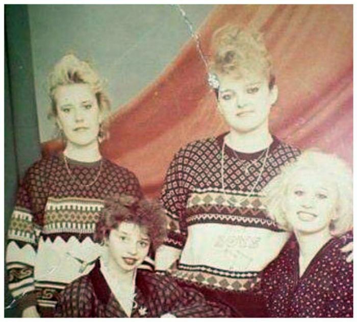 Теплые уродливые свитера.