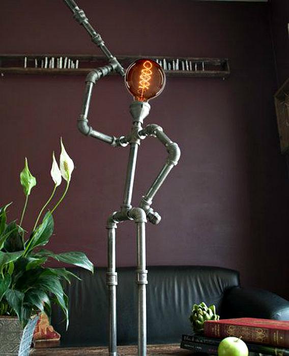 Забавный светильник.