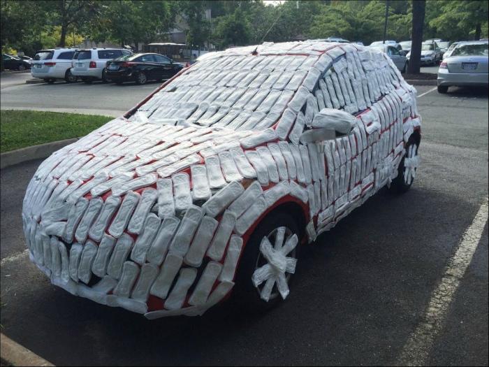 Когда автомобиль страдает за грехи своего владельца