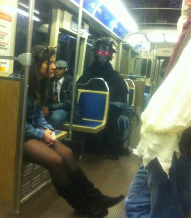 Пассажиры бывают разные...