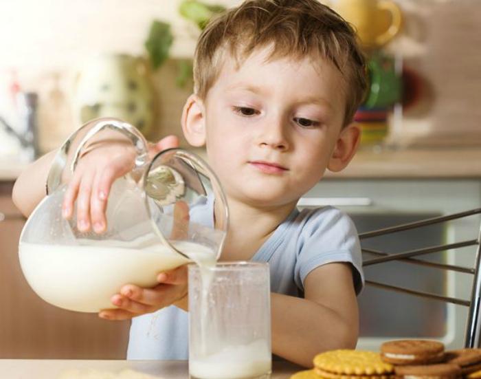 Нужно пить молоко, чтобы быть здоровым.