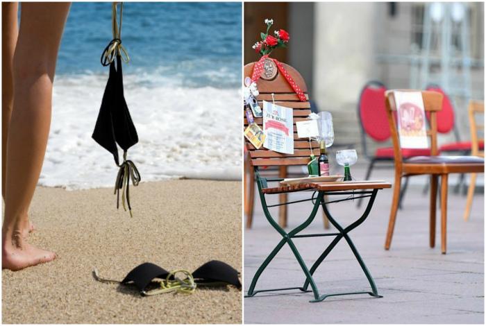 Нудизм и собственные стулья в Германии. | Фото: Labuda.blog.