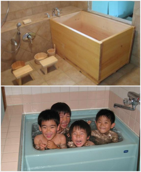 «Семейная» ванна в Японии. | Фото: The World Of Zeilar - Дневники, LiveJournal.