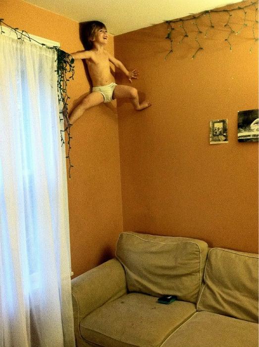 Маленький человек-паук.