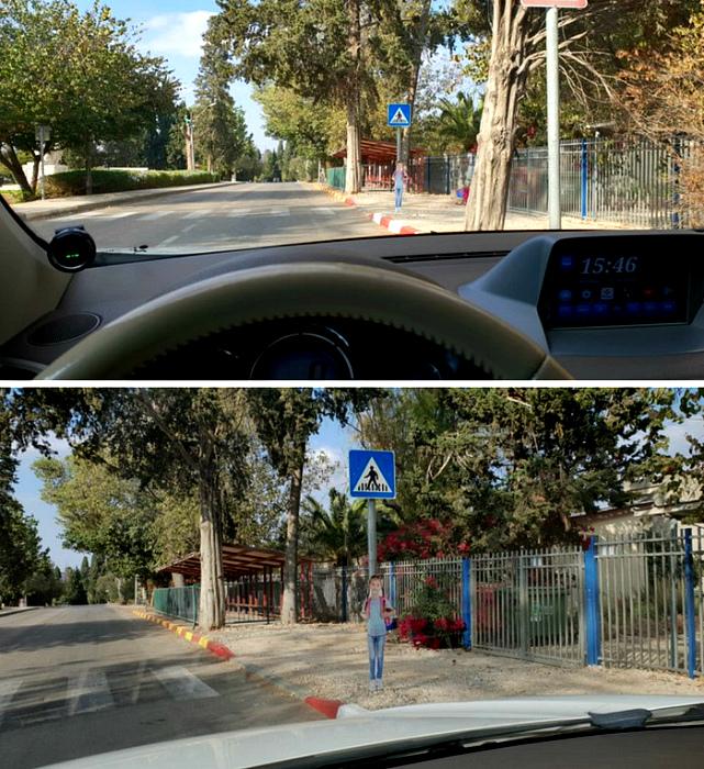 Забавные дорожные знаки Израиля. | Фото: Infodays.