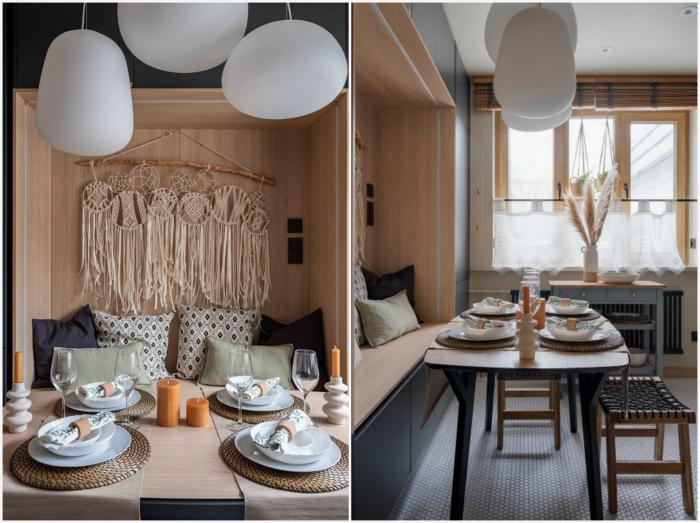 Уютные решения в интерьере кухни. | Фото: Houzz, Квартирный вопрос.
