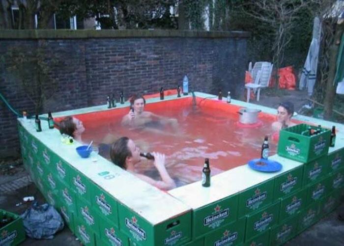 Как сделать бассейн для детей из своих материалах