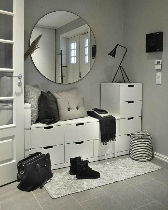 Система ящиков и шкафчиков. | Фото: Pinterest.