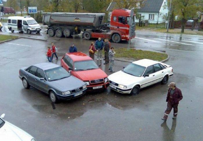 Сила притяжения Audi.