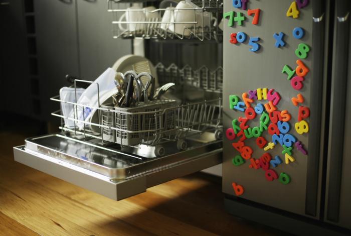Секрет качественного мытья посуды в посудомоечной машине.