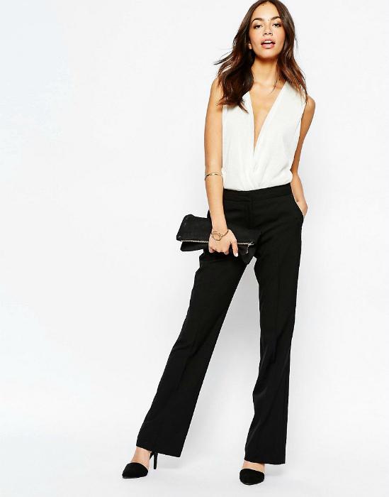 Идеальная длина классических брюк.