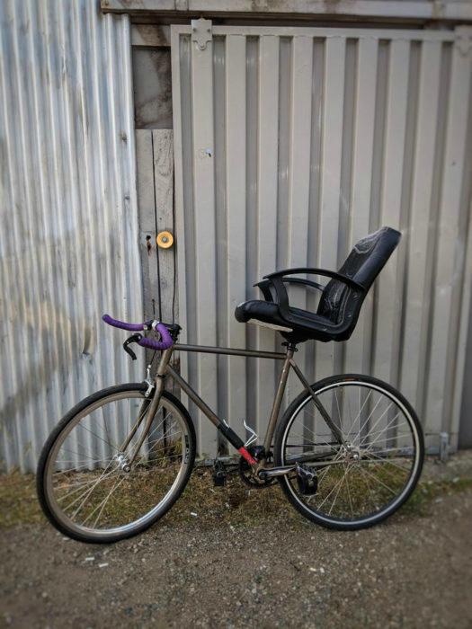 Зачем покупать новый велосипед, если можно усовершенствовать старый.