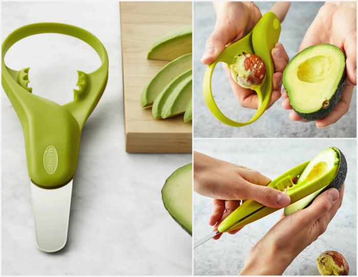 Мультитул для работы с авокадо.