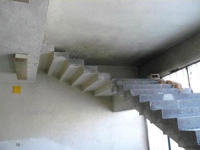 Затейливая лестница.