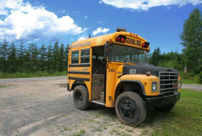 Компактный школьный автобус.| Фото: Reddit.