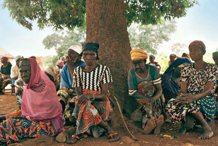 Большая часть женского населения Центрально-Африканской республики - ведьмы.