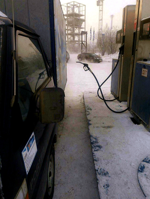 Бензина не будет, расходимся!