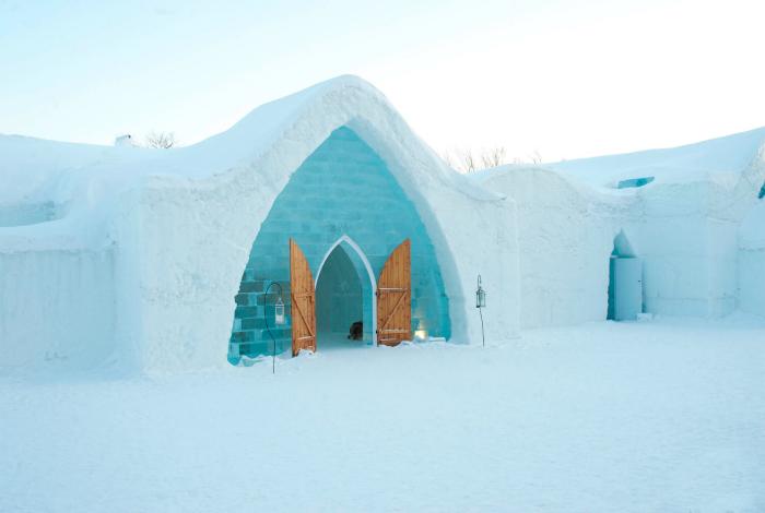 Отель изо льда.