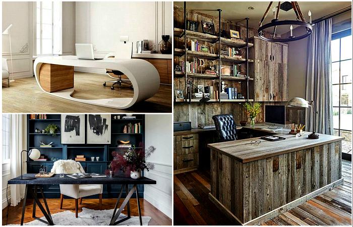 Великолепные примеры оформления домашнего офиса.