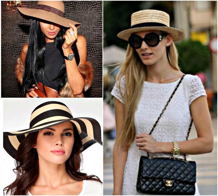 Стильные летние шляпки.