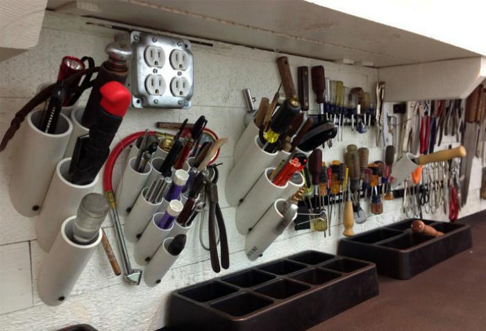 Хранение инструментов.
