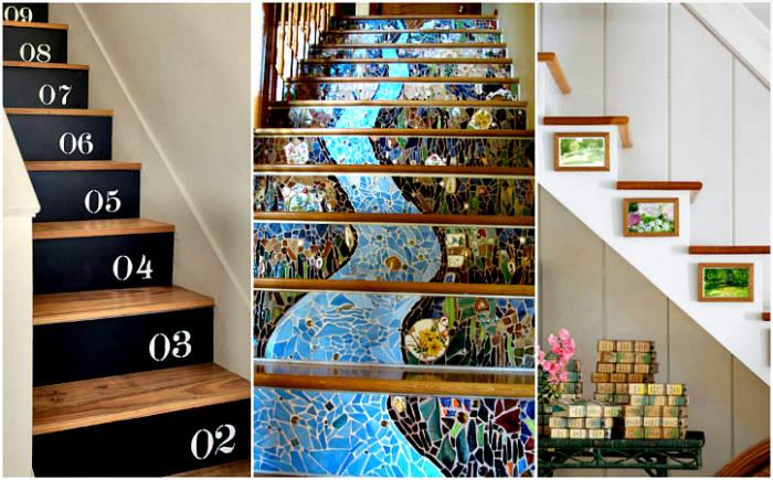 Потрясающие идеи преображения лестницы.