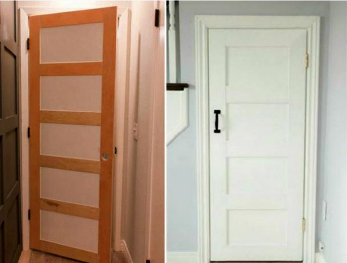 Декор межкомнатных дверей.