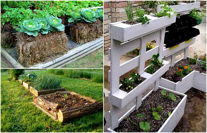 Высокие грядки в современном саду: материалы и свойства.