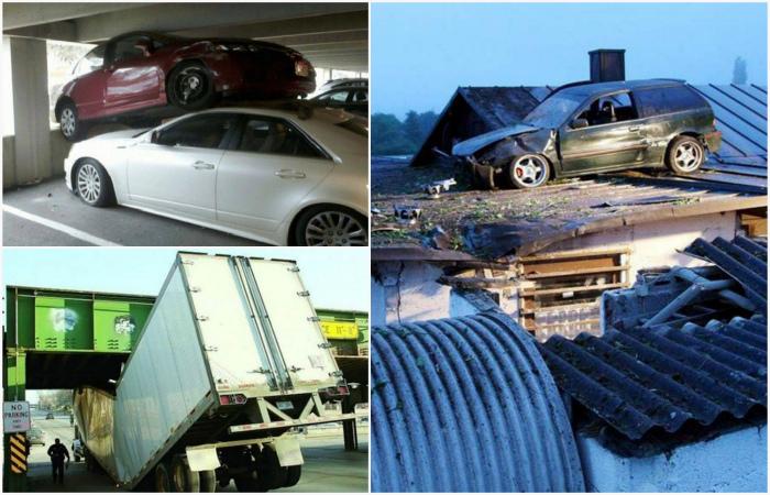 Аномальные дорожно-транспортные происшествия, которые сложно объяснить.