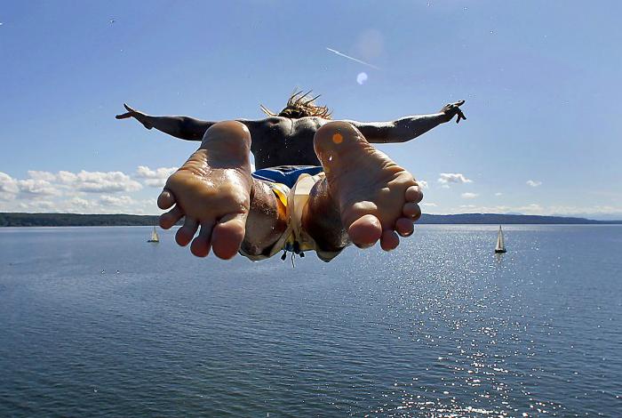 Идеальный прыжок.