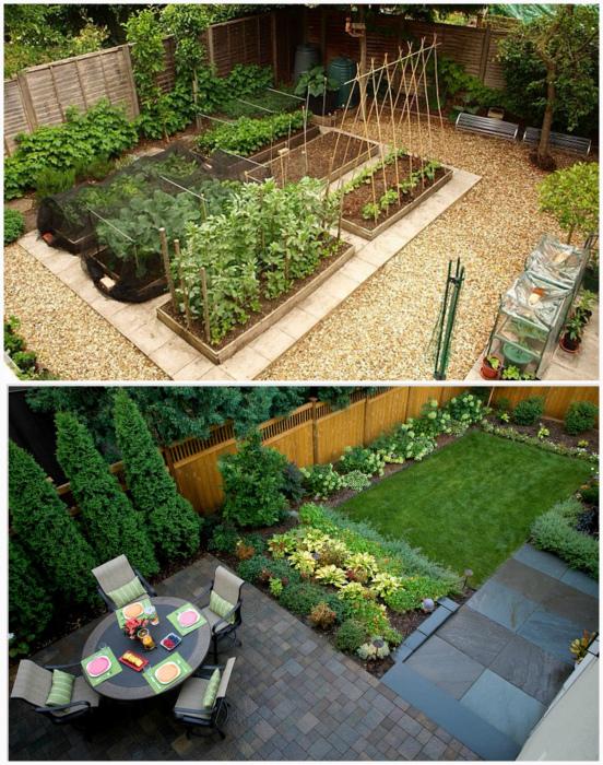 Зонирование территории сада. | Фото: lowpicx.pw.