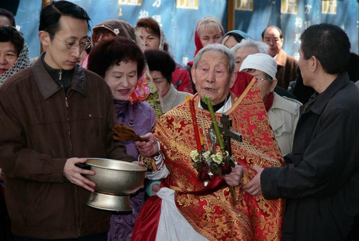 Популяризация христианства в Китае.