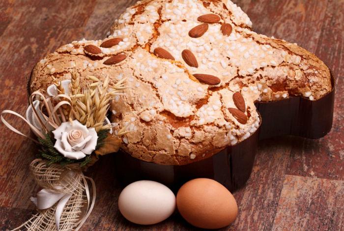 Традиционное пасхальное блюдо в Италии.
