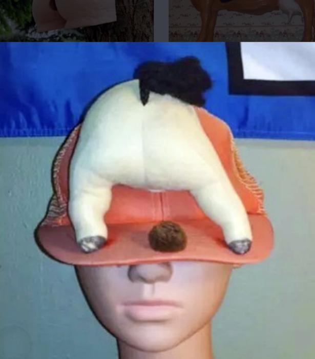 Специфическая кепка.