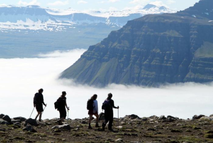 Активный туризм в Исландии.