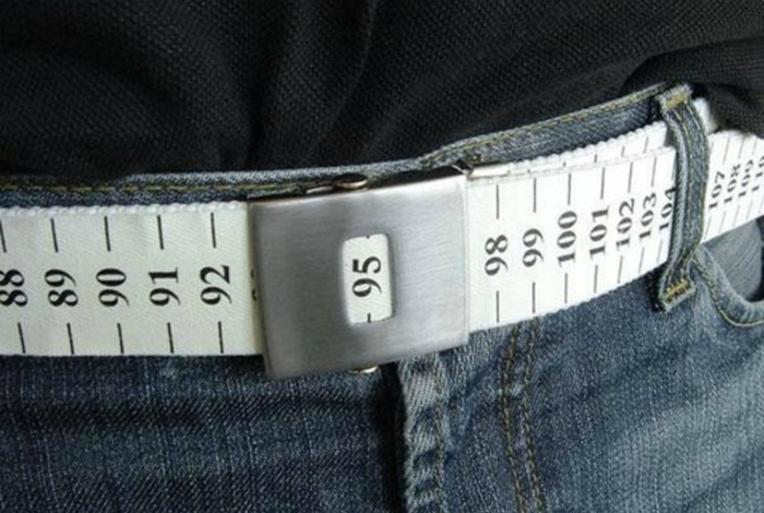 Ремень, измеряющий объем талии.
