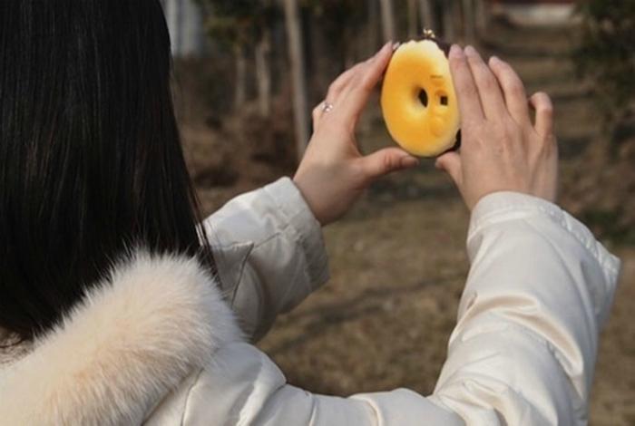 Камера в виде пончика.