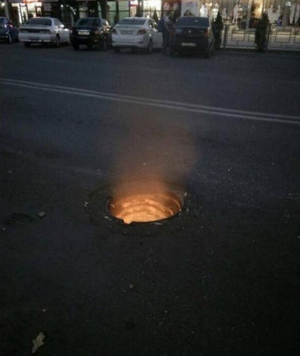 По мнению Novate.ru, это и есть вход в преисподнюю. | Фото: Rire en boite.
