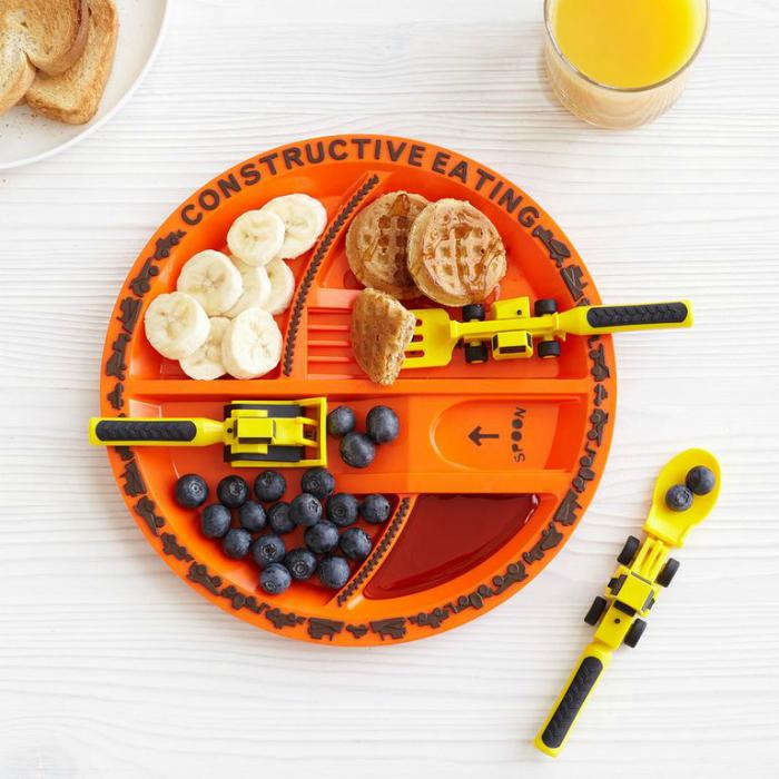 Игровая детская тарелка.