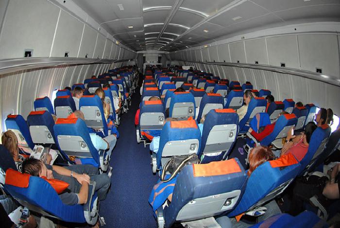 Выбор мест в самолете. | Фото: Хабар 24.