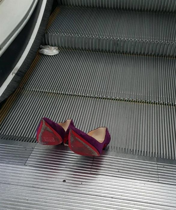 Потерянные туфельки Золушки. | Фото: Ribalych.ru.