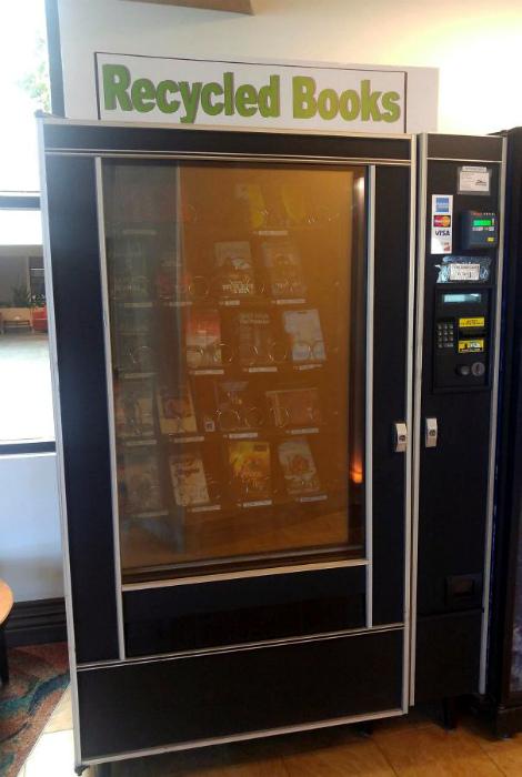 Вендинговый автомат с книгами. | Фото: Ридус.