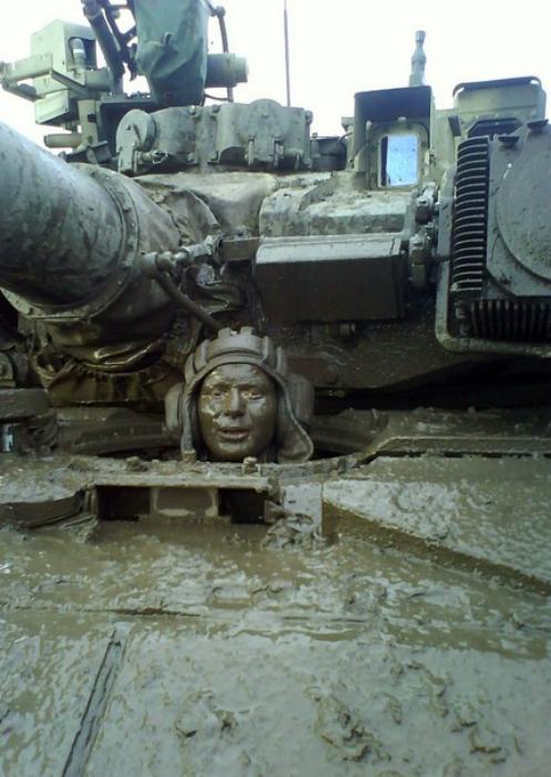 Танки грязи не бояться.