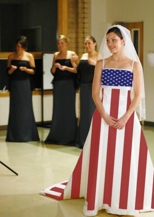 Невеста Америки.