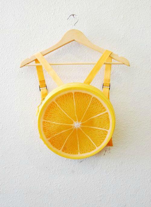Рюкзак «Лимон».