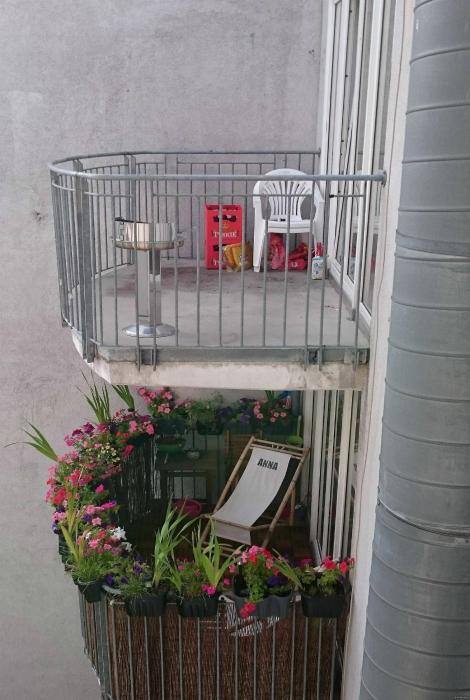 Женский и мужской взгляд на дизайн балкона.